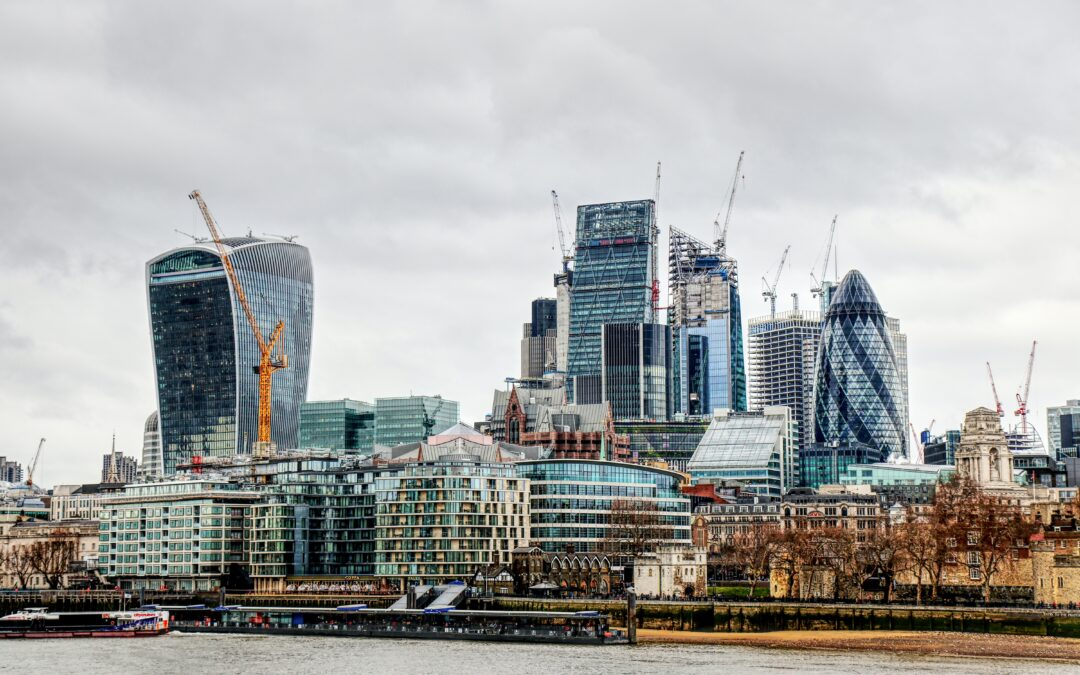 Latest London Crane Survey Shows a 20% Rise in Office Starts